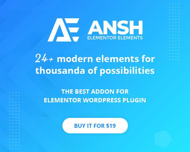 Ansh Elements For Elementor - 1
